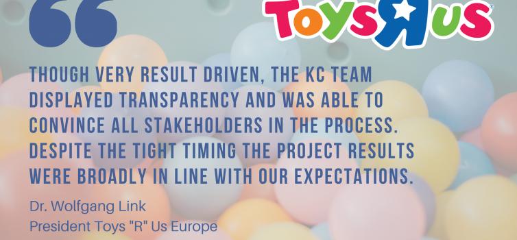 Project description Toys R Us