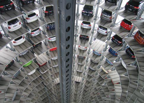 Nachfrage in der Autobranche geht zurück