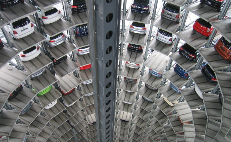 Demand in the automotive industry declines