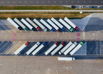 Emissionsreduzierung in der Transport- und Logistikbranche