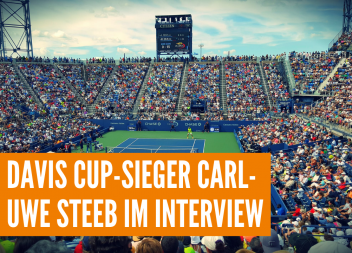 Davis Cup-Sieger Carl-Uwe Steeb im Interview