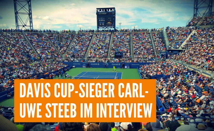 Davis Cup-Sieger Carl-Uwe Steeb im Interview