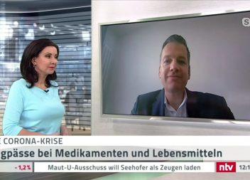 Experten-Interview mit Marc Kloepfel bei N-TV zur Corona-Krise