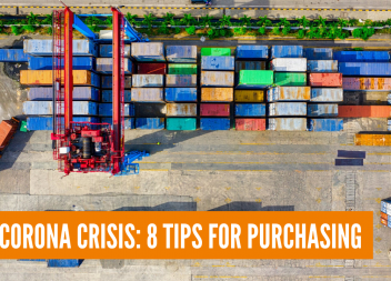 Corona-Crisis: 8 tips for purchasing