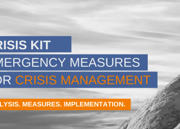 Crisis kit: Immediate measures for crisis management