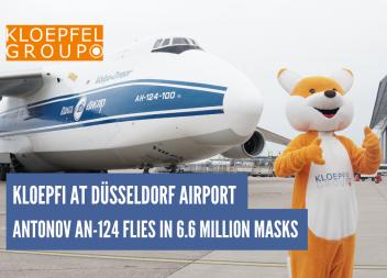Kloepfi receives 6.6 million face masks
