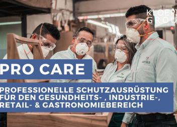 Pro Care: Schutzausrüstung für Europa
