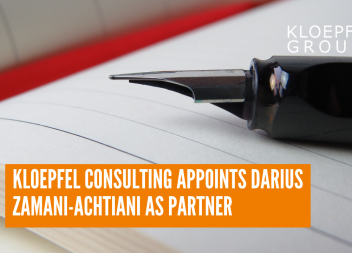 Kloepfel Consulting appoints Darius Zamani-Achtiani as partner