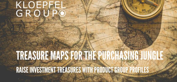 Treasure maps for the purchasing jungle