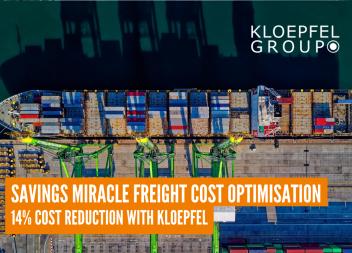 Savings miracle freight cost optimisation