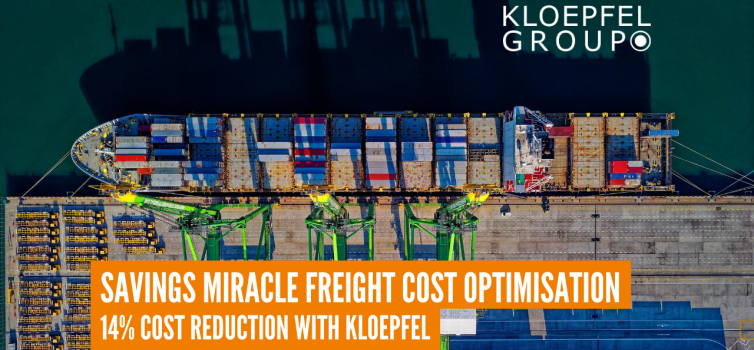 Savings miracle freight cost optimisation