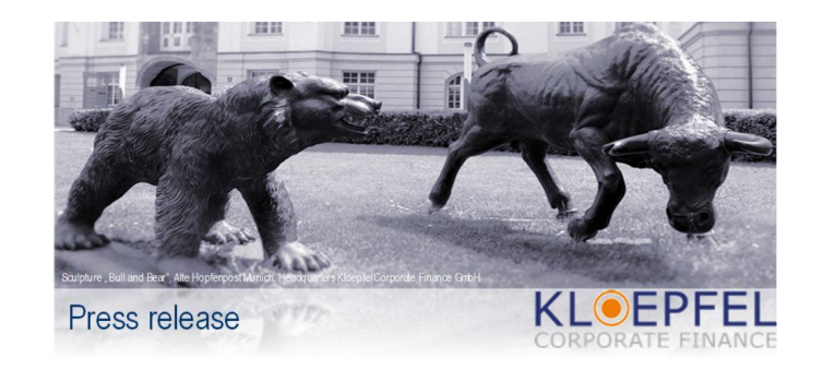 Kloepfel Corporate Finance berät exklusiv VIA optronics AG