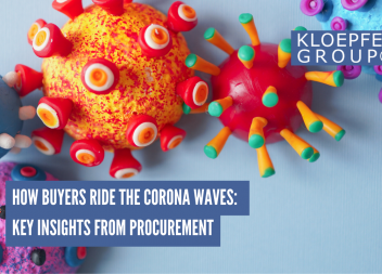How Buyers ride the Corona Waves: Key Insights from Procurement