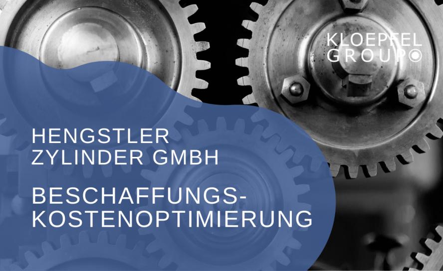 Beschaffungskostenoptimierung bei der Hengstler Zylinder GmbH