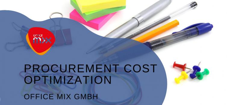 Procurement cost optimization at Office Mix GmbH