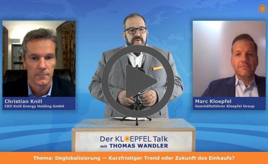 Der Kloepfel Talk mit Thomas Wandler