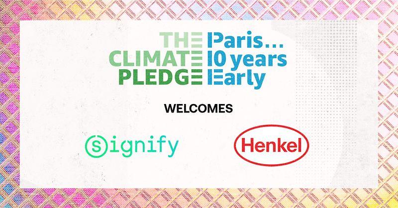Henkel schließt sich Amazons Klimaschutzbündnis an