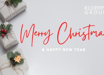 Die Kloepfel Group wünscht frohe Weihnachten