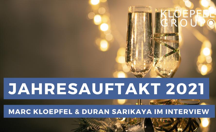Jahresauftaktinterview 2021 mit Marc Kloepfel und Duran Sarikaya