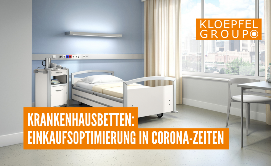 Krankenhausbetten: Einkaufsoptimierung in Corona-Zeiten