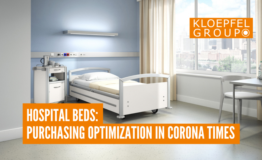 Hospital beds: Purchasing optimization in Corona times