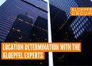 Location determination with the Kloepfel experts