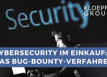 CyberSecurity-Sourcing im Einkauf: Das Bug-Bounty-Verfahren