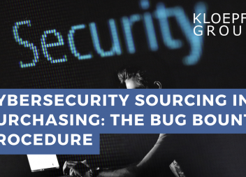 CyberSecurity Sourcing in Purchasing: The Bug Bounty Procedure