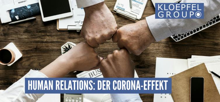 Human Relations: Der Corona-Effekt