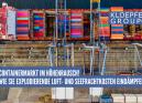 Containermarkt im Höhenrausch!