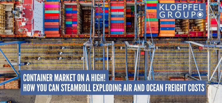 Container market on a high!