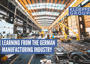 Learning from the german manufacturing industry