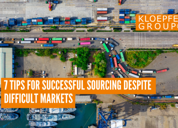 7 tips for successful sourcing despite difficult markets