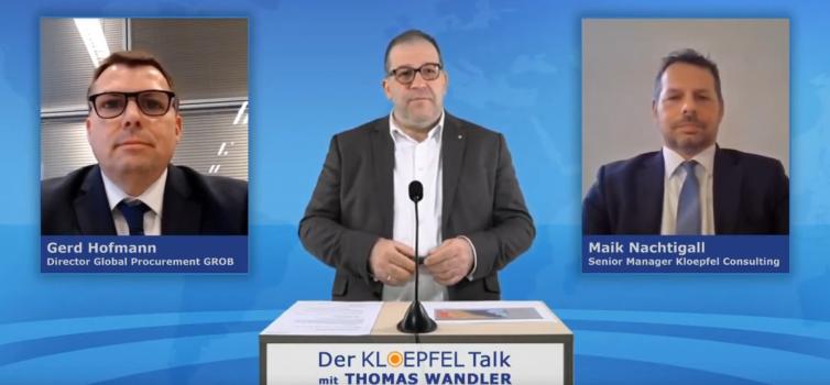 Der Kloepfel Talk: Moderner Einkauf 2021