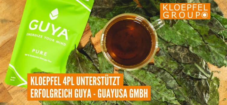 Kloepfel 4PL unterstützt erfolgreich GUYA - Guayusa GmbH