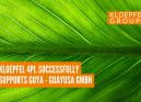 Kloepfel 4PL successfully supports GUYA - Guayusa GmbH