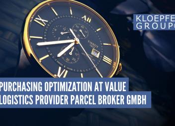 Customer interview: Purchasing optimization at value logistics provider Parcel Broker GmbH