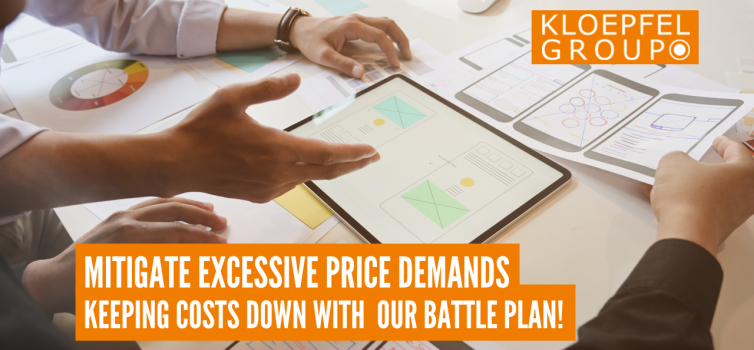 Mitigate excessive price demands