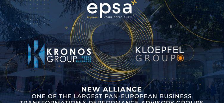 EPSA, Kloepfel und Kronos bilden größten paneuropäischen Einkaufsspezialisten für Mittelständler und Groß-Unternehmen