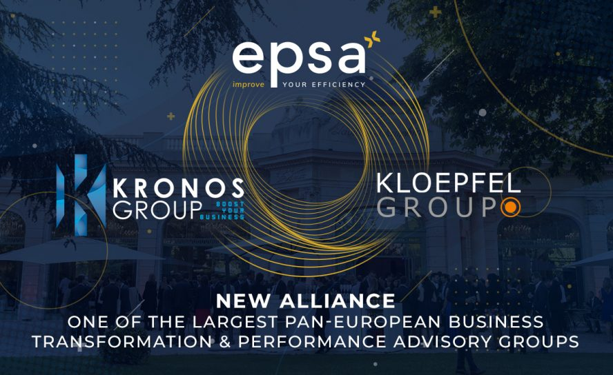 EPSA, Kloepfel and Kronos form largest pan-European purchasing specialist for medium-sized and large companies
