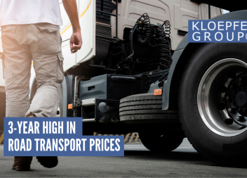 3-year high in road transport prices