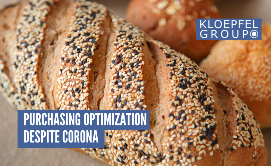 Purchasing optimization despite Corona