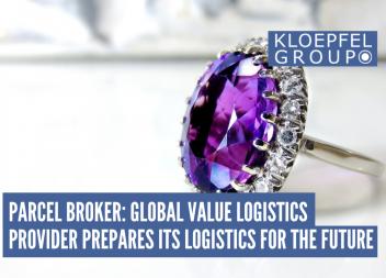 Parcel Broker: Global value logistics provider prepares its logistics for the future