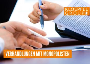 Verhandlungen mit Monopolisten