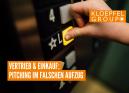 Vertrieb & Einkauf: Pitching im falschen Aufzug