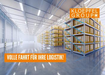 Volle Fahrt für Ihre Logistik!