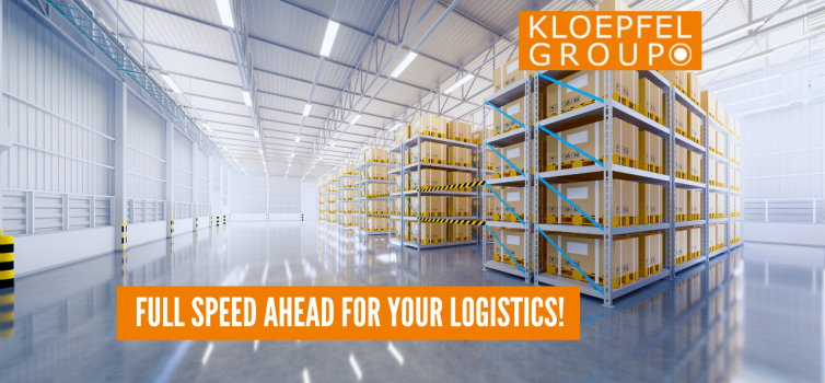 Full speed ahead for your logistics!